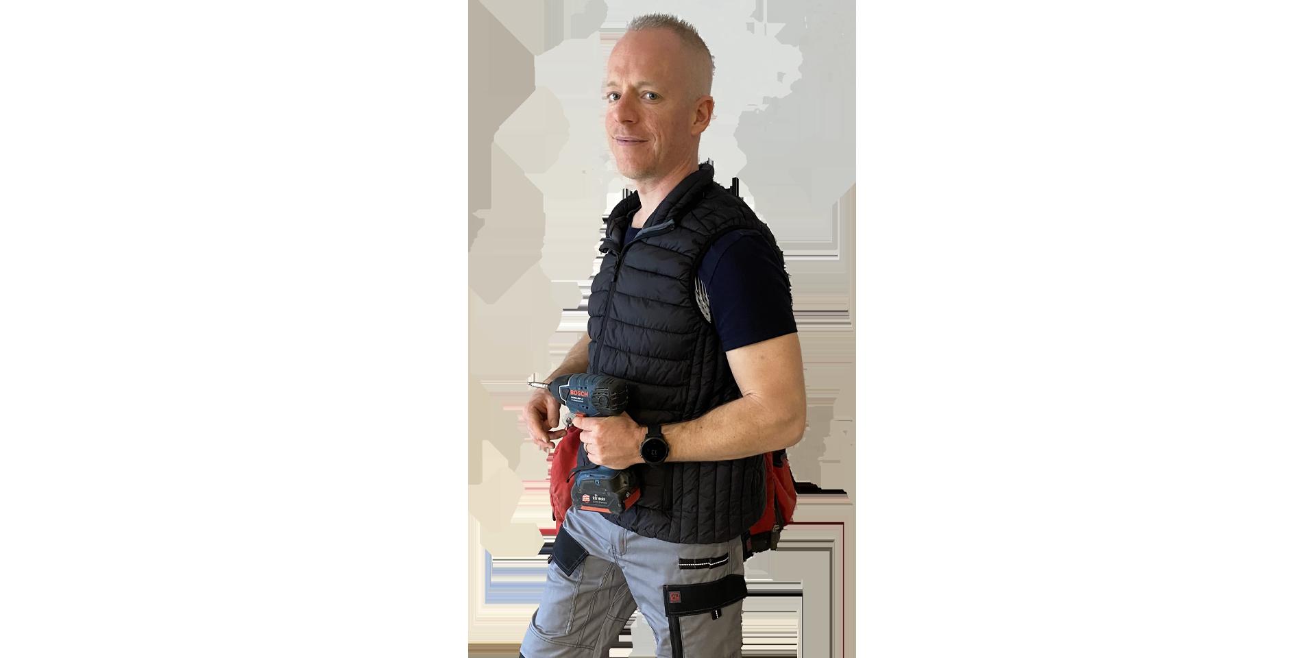 Sébastien Cornu, plombier, chauffagiste et spécialiste de la climatisation